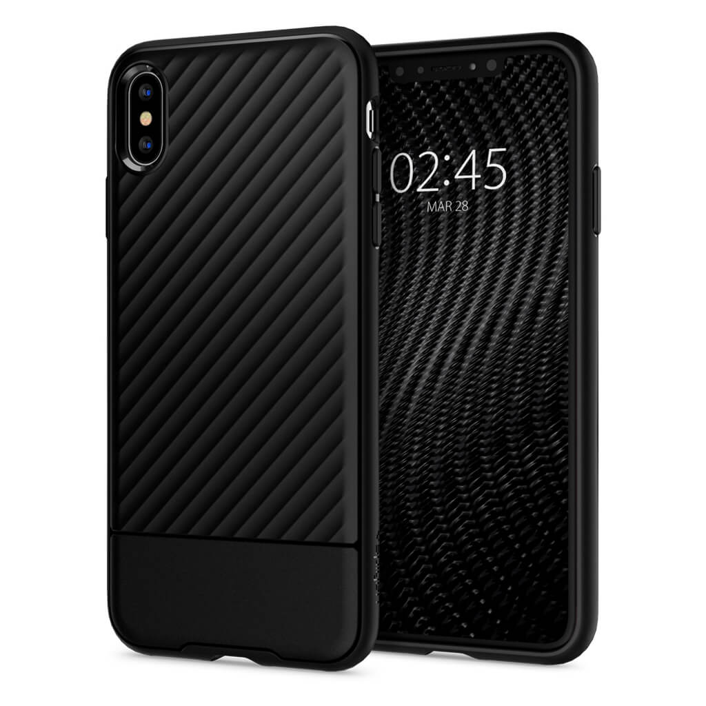 Spigen® Core Armor™ 065CS24861 iPhone XS Max Case - Black