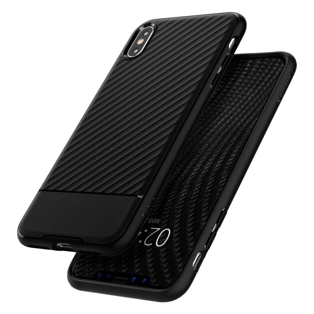 Spigen® Core Armor™ 065CS24861 iPhone XS Max Case - Black