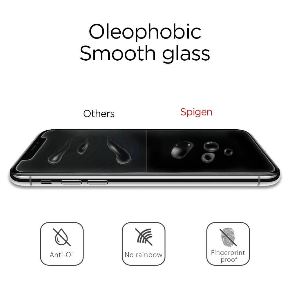 Spigen® GLAS.tR SLIM™ HD iPhone XR Premium Tempered Glass Screen Protector