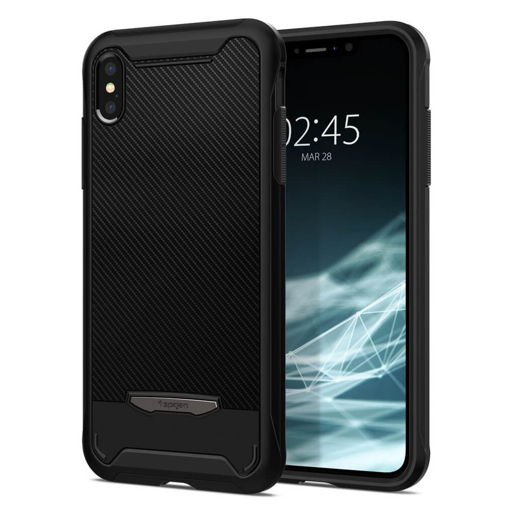 Spigen® Hybrid NX 065CS24944 iPhone XS Max Case - Black
