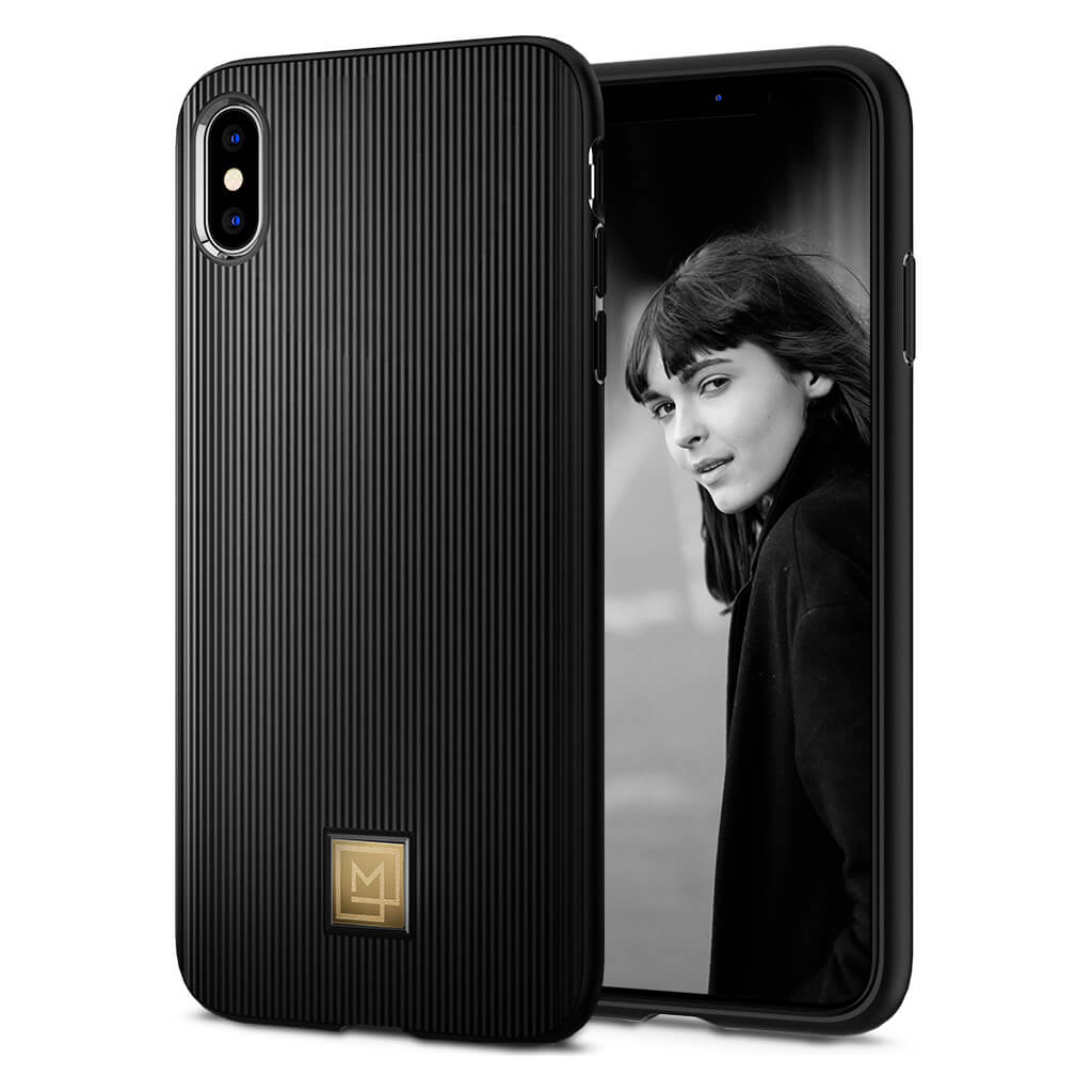 Spigen® La Manon Classy 065CS24958 iPhone XS Max Case - Black