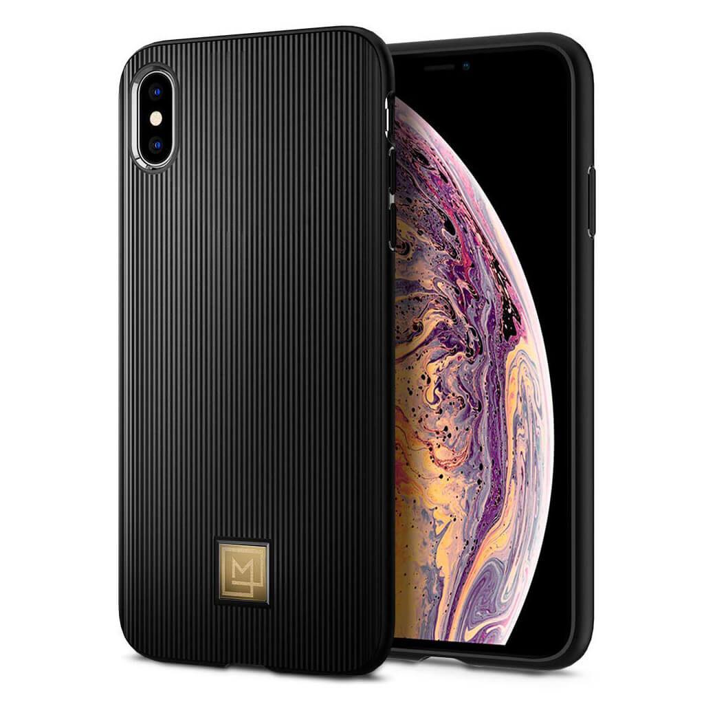 Spigen® La Manon Classy 065CS24958 iPhone XS Max Case - Black