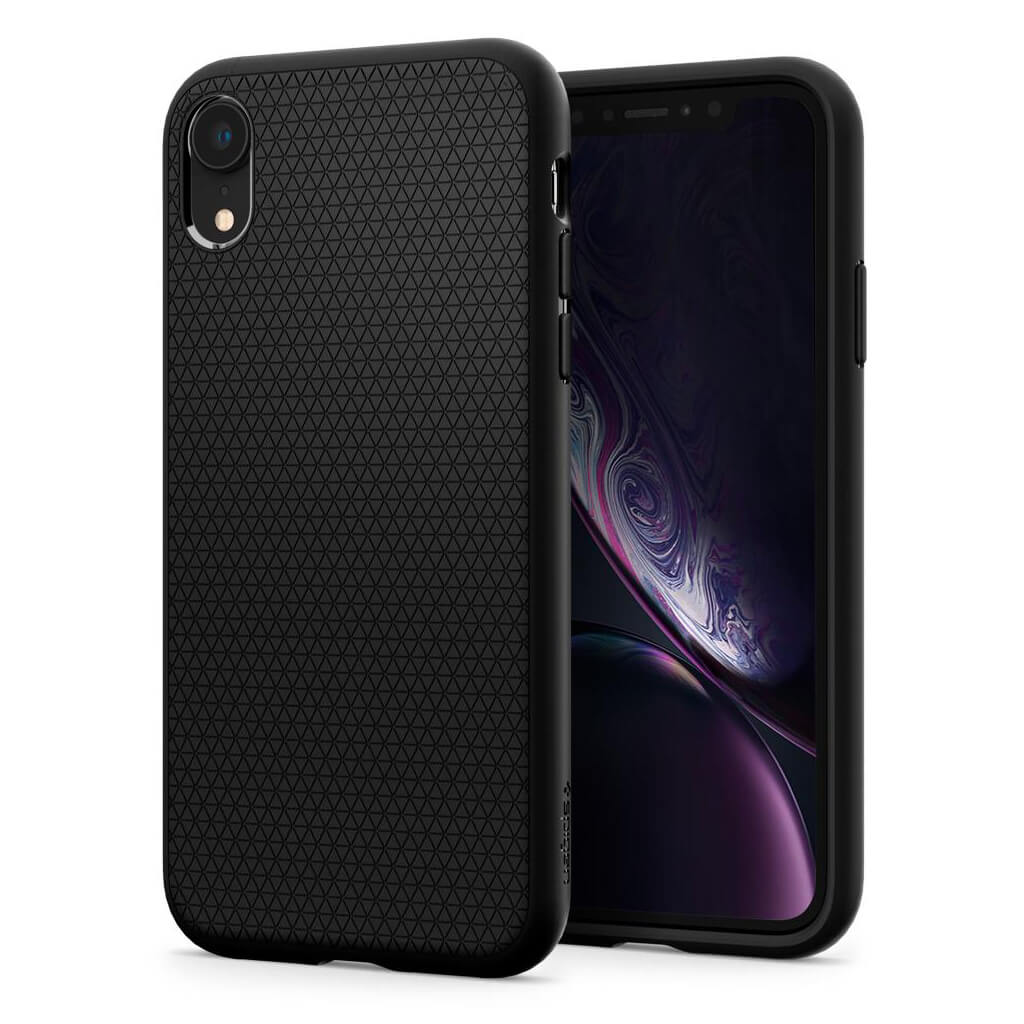 Spigen® Liquid Air™ 064CS24872 iPhone XR Case - Matte Black