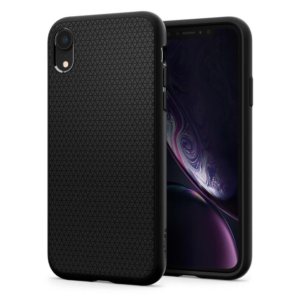 Spigen® Liquid Air™ 064CS24872 iPhone XR Case - Matte Black