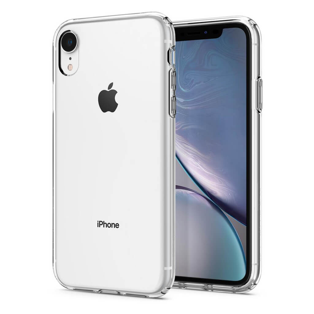 Spigen® Liquid Crystal™ 064CS24866 iPhone XR Case - Crystal Clear