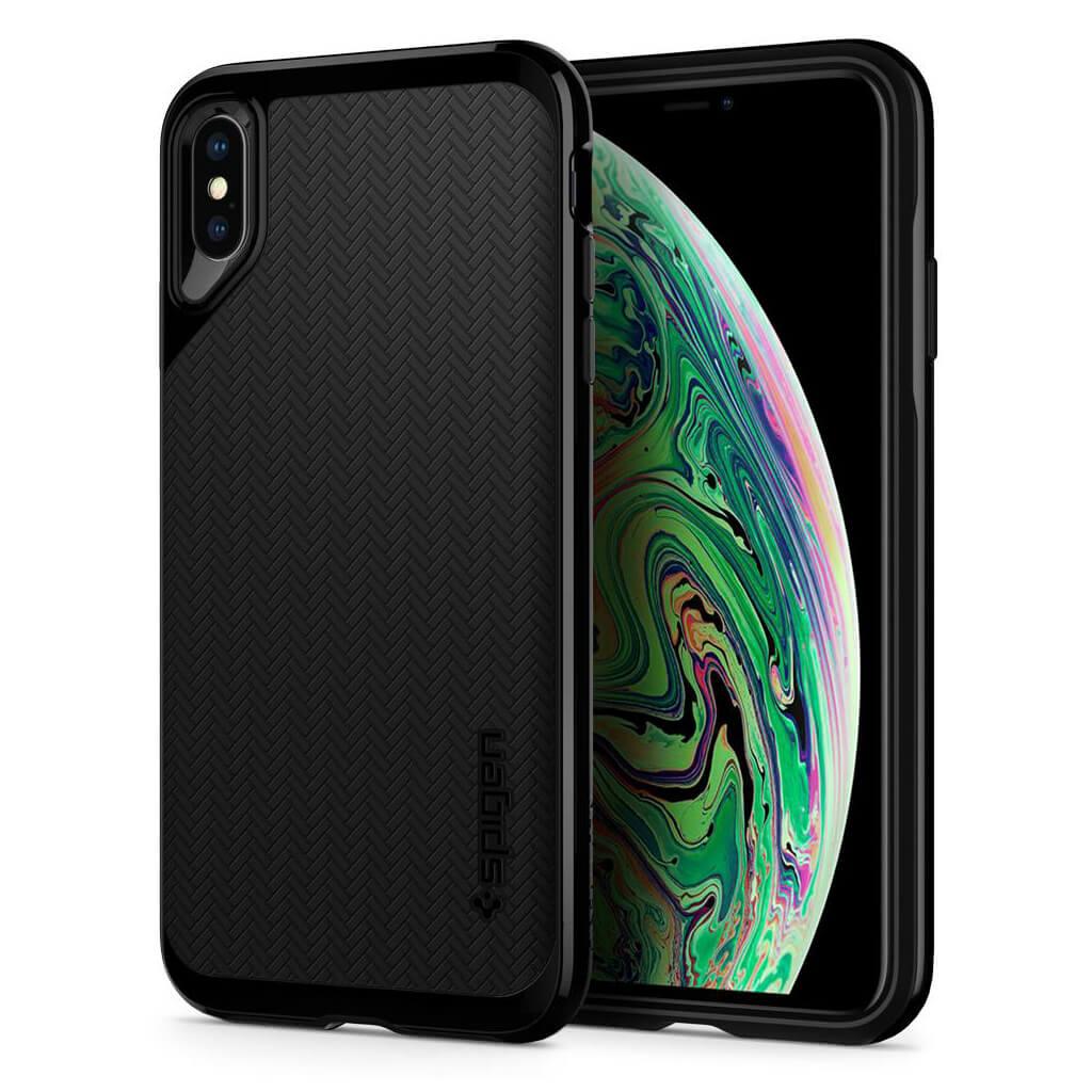 Spigen® Neo Hybrid 065CS24839 iPhone XS Max Case - Jet Black