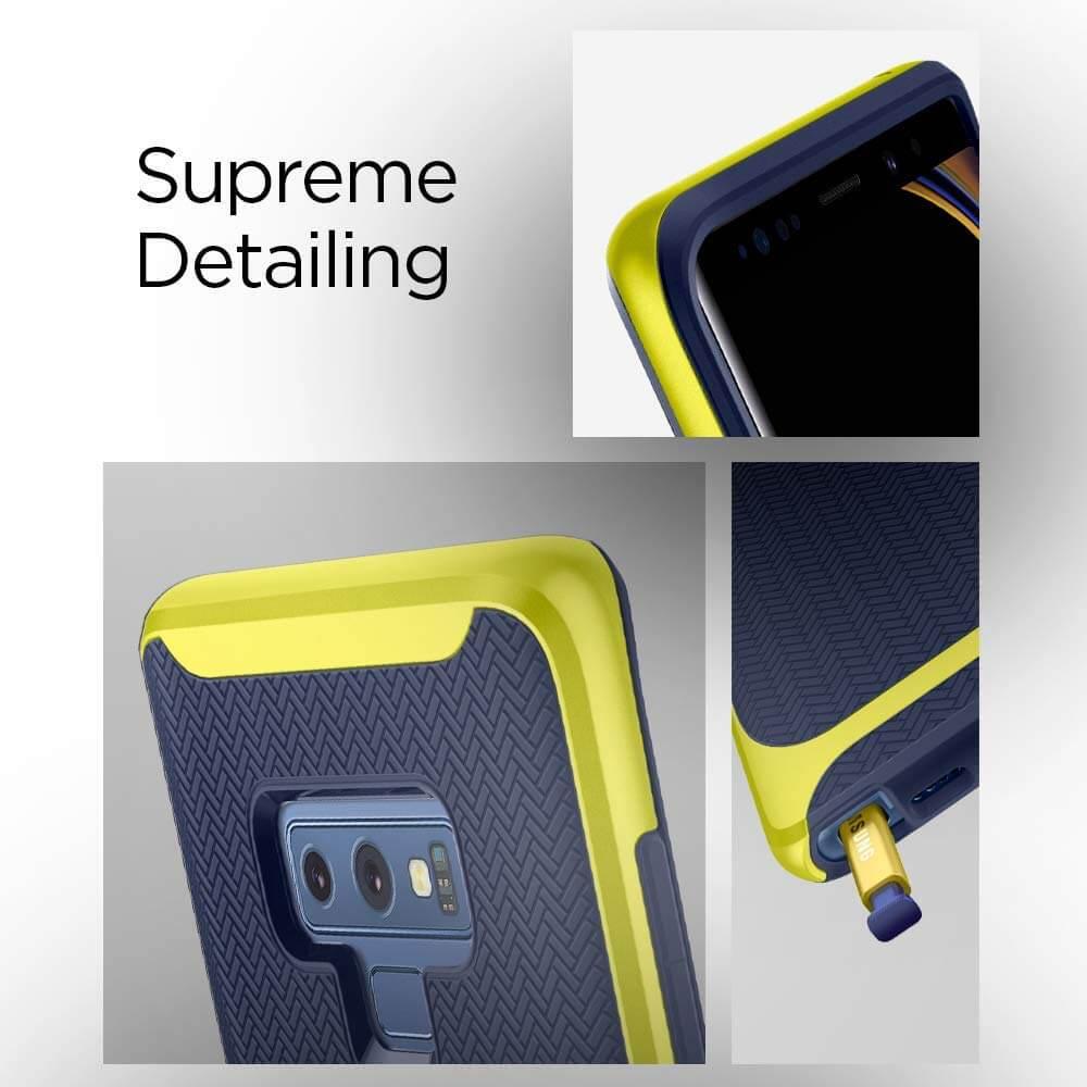 Spigen® Neo Hybrid™ 599CS25055 Samsung Galaxy Note 9 Case - Ocean Blue