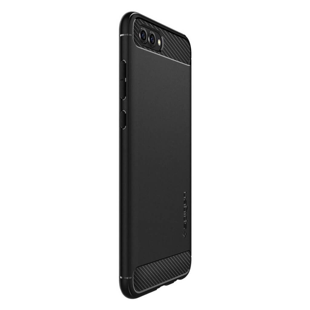 more photos 4a885 04ad6 Spigen® Rugged Armor™ L25CS23969 Huawei Honor View 10 Case - Black |  spaceboy*