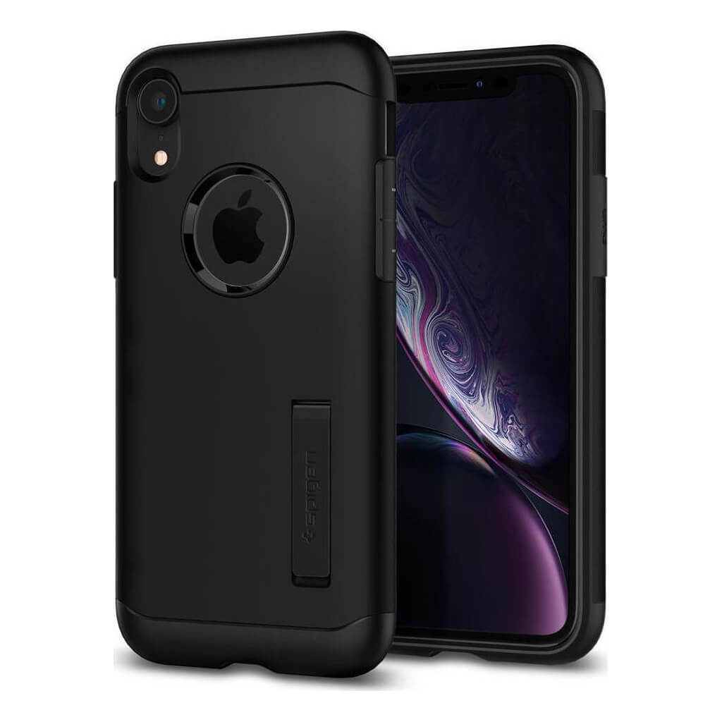 Spigen® Slim Armor™ 064CS25146 iPhone XR Case - Black