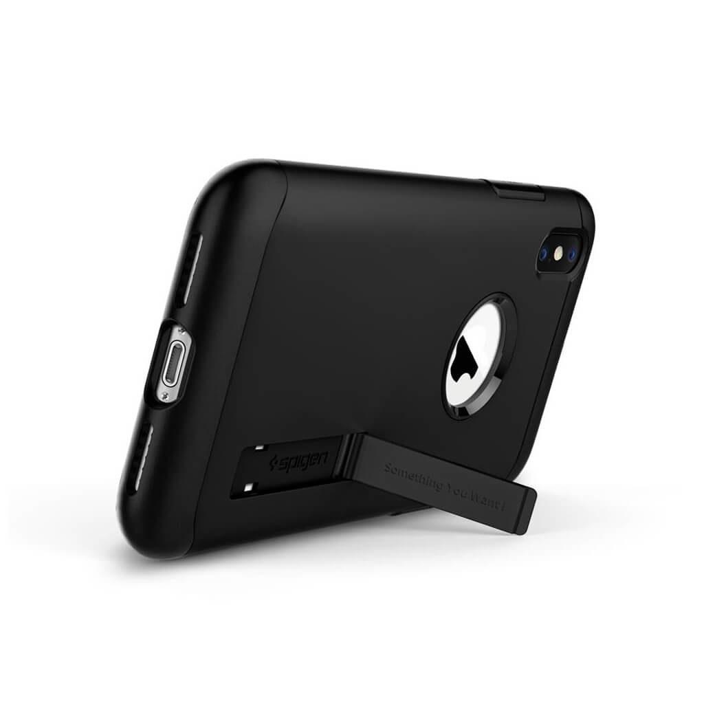 Spigen® Slim Armor™ 065CS25156 iPhone XS Max Case - Black