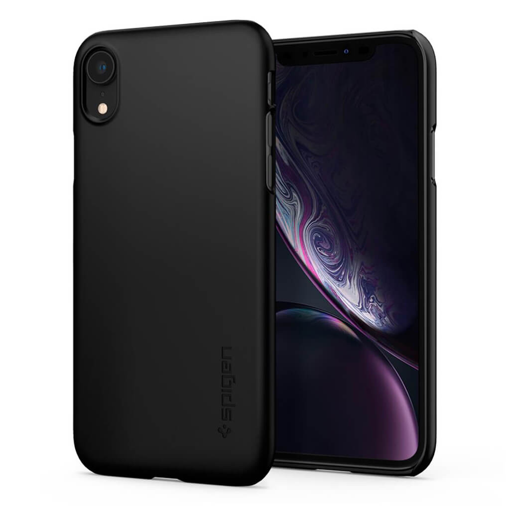 Spigen® Thin Fit™ 064CS24864 iPhone XR Case - Black