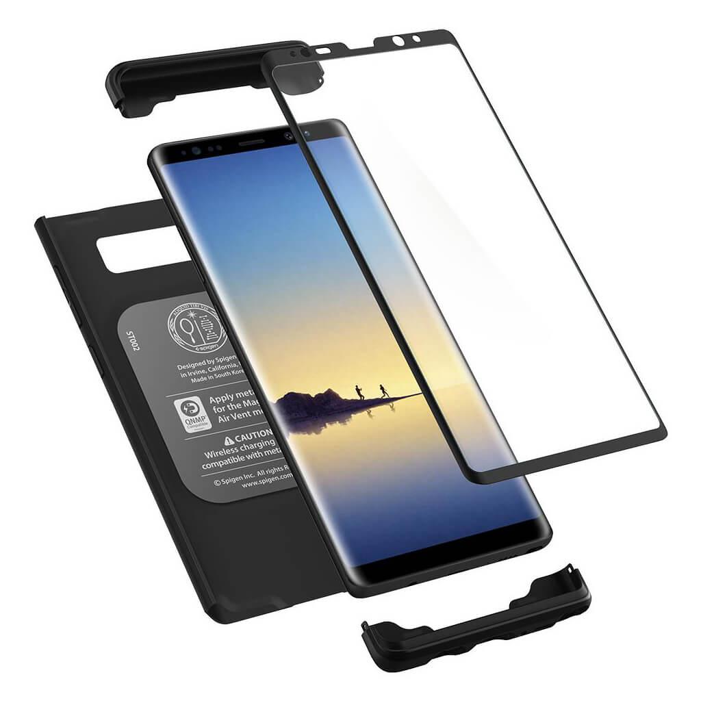 Spigen® Thin Fit 360™ 587CS22098 Samsung Galaxy Note 8 Case - Black