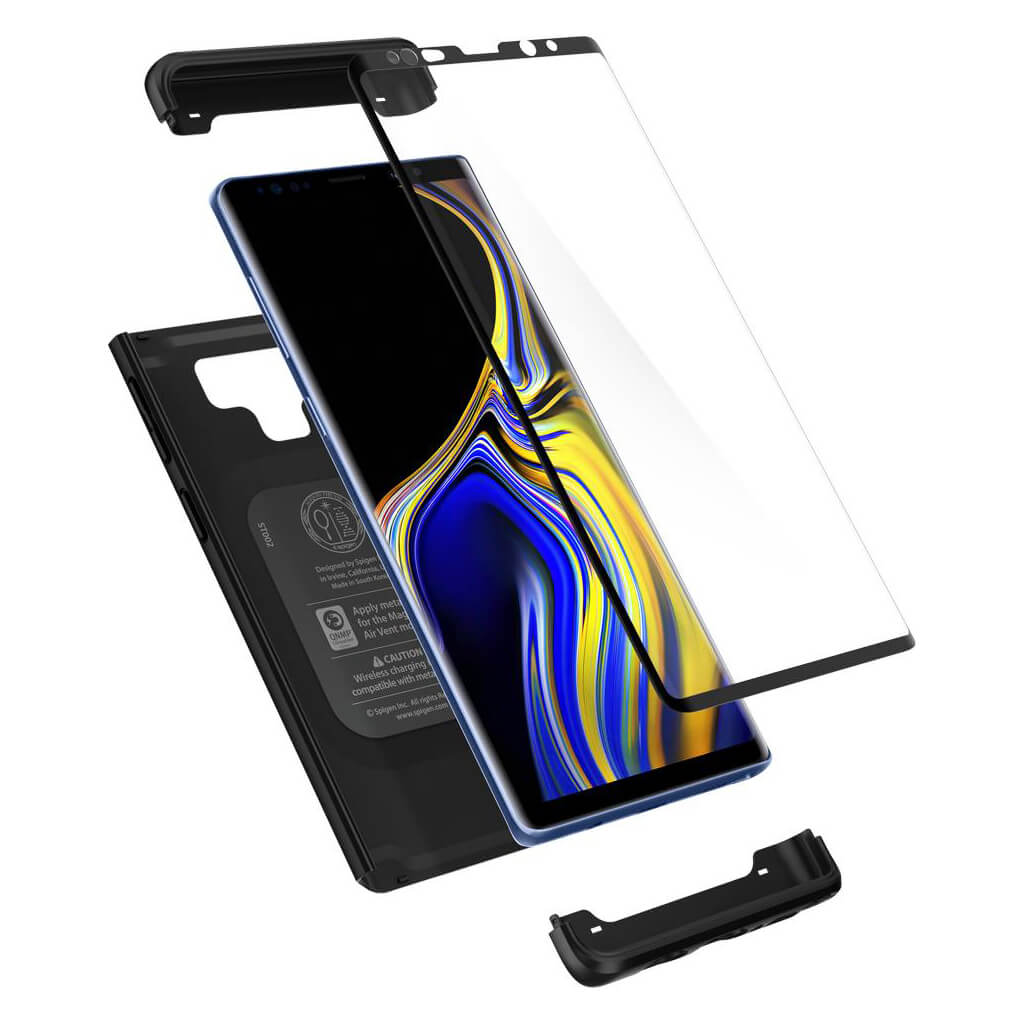 Spigen® Thin Fit 360™ 599CS24581 Samsung Galaxy Note 9 Case - Black