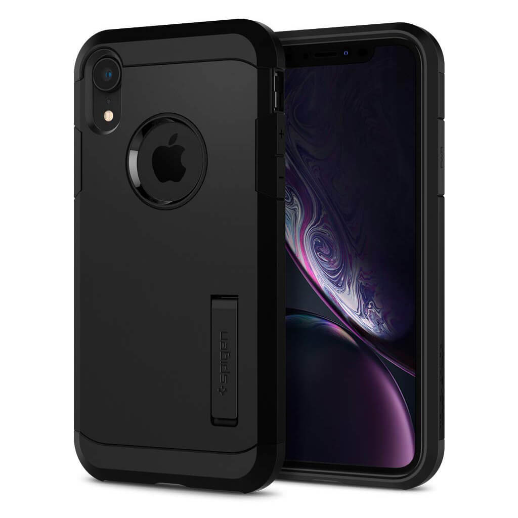 Spigen® Tough Armor™ 064CS24876 iPhone XR Case - Black