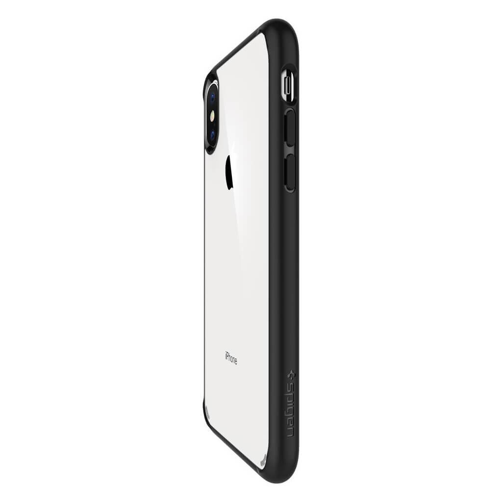 Spigen® Ultra Hybrid™ 063CS25116 iPhone XS / X Case - Matte Black
