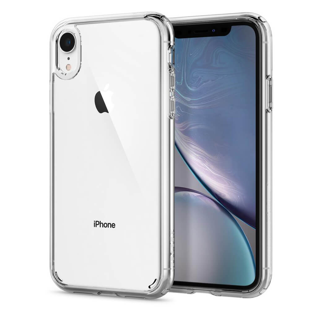Spigen® Ultra Hybrid™ 064CS24873 iPhone XR Case - Crystal Clear