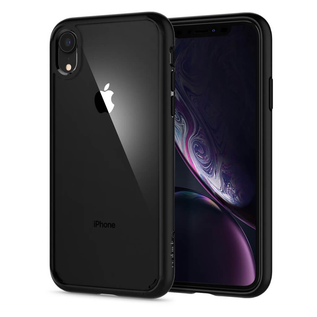 Spigen® Ultra Hybrid™ 064CS24874 iPhone XR Case - Matte Black