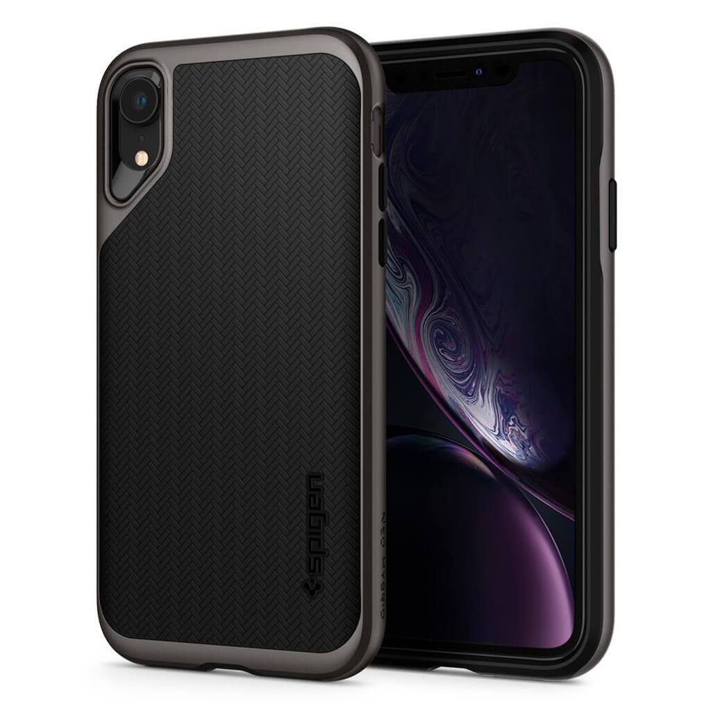 Spigen® Neo Hybrid™ 064CS24878 iPhone XR Case - Gunmetal