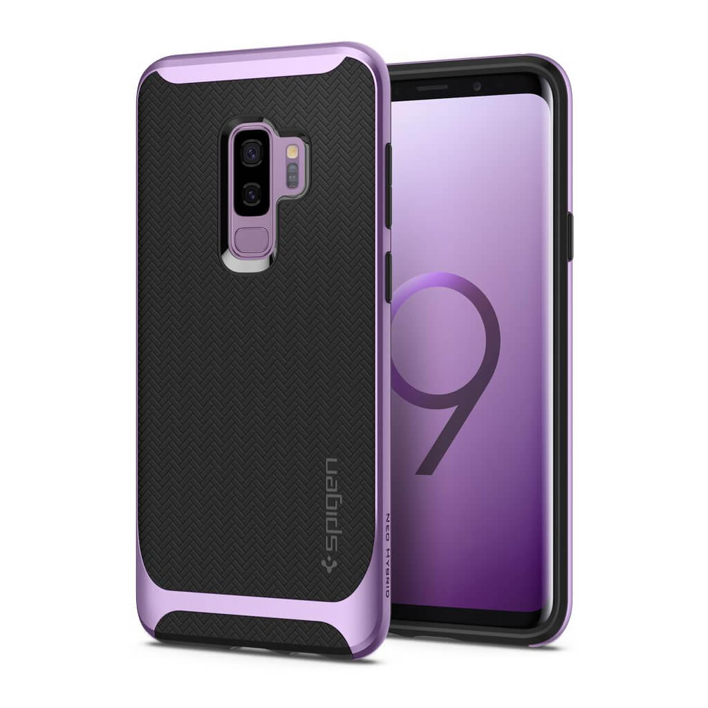 Spigen® Neo Hybrid™ 593CS22947 Samsung Galaxy S9+ Plus Case - Lilac Purple