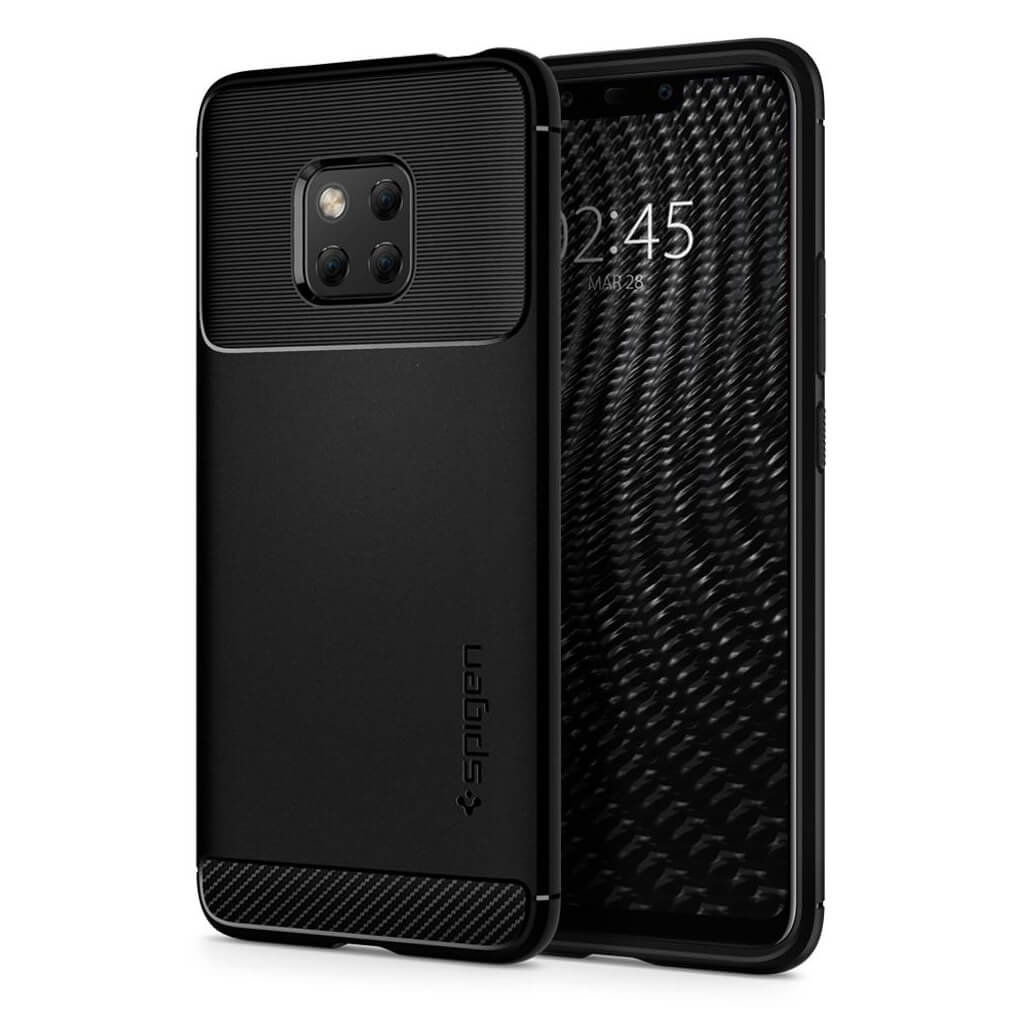 Spigen® Rugged Armor™ L34CS25064 Huawei Mate 20 Pro Case - Black