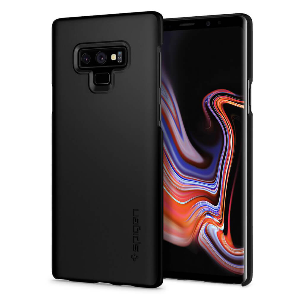 Spigen® Thin Fit™ 599CS24566 Samsung Galaxy Note 9 Case - Black