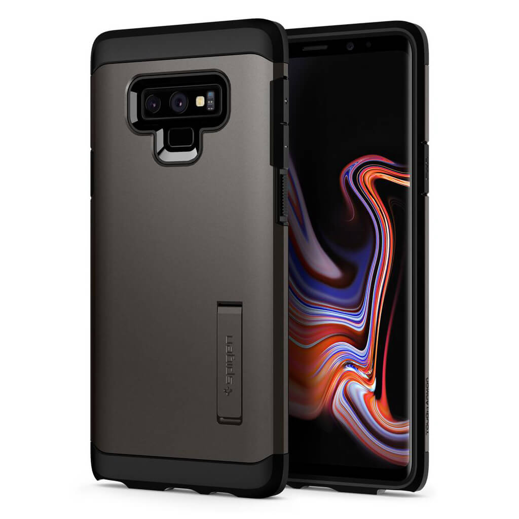 Spigen® Tough Armor™ 599CS24576 Samsung Galaxy Note 9 Case - Gunmetal