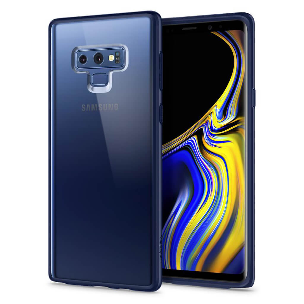 Spigen® Ultra Hybrid™ 599CS25054 Samsung Galaxy Note 9 Case - Ocean Blue