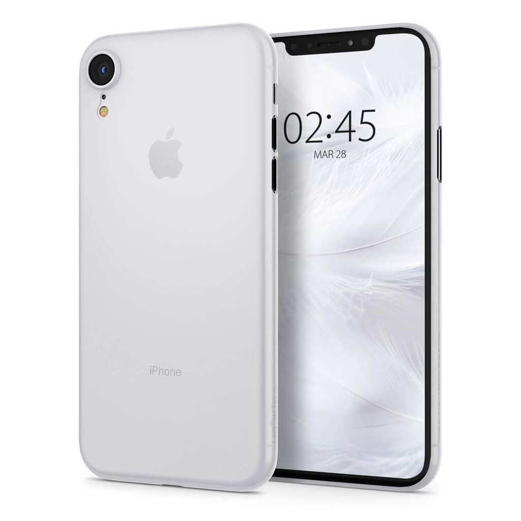 Spigen® AirSkin™ 064CS24869 iPhone XR Case - Soft Clear