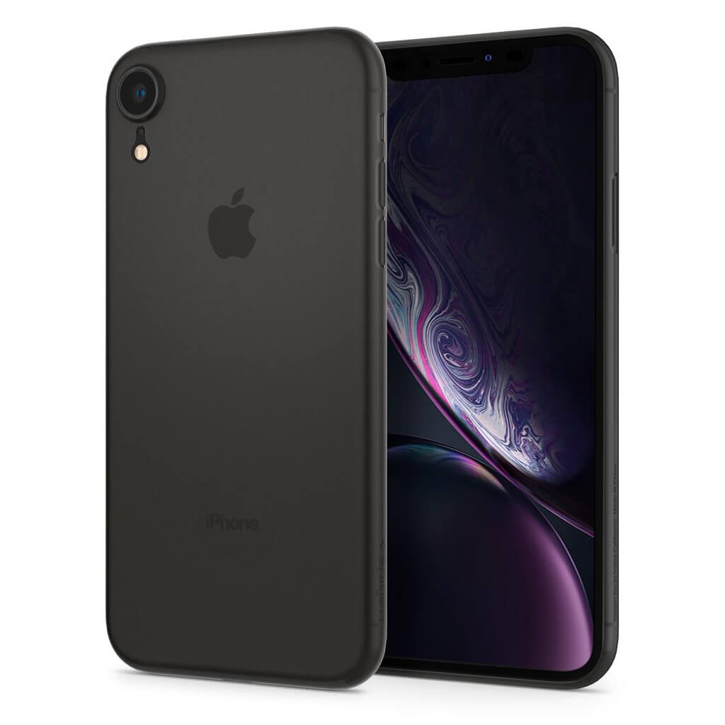 Spigen® AirSkin™ 064CS24870 iPhone XR Case - Black