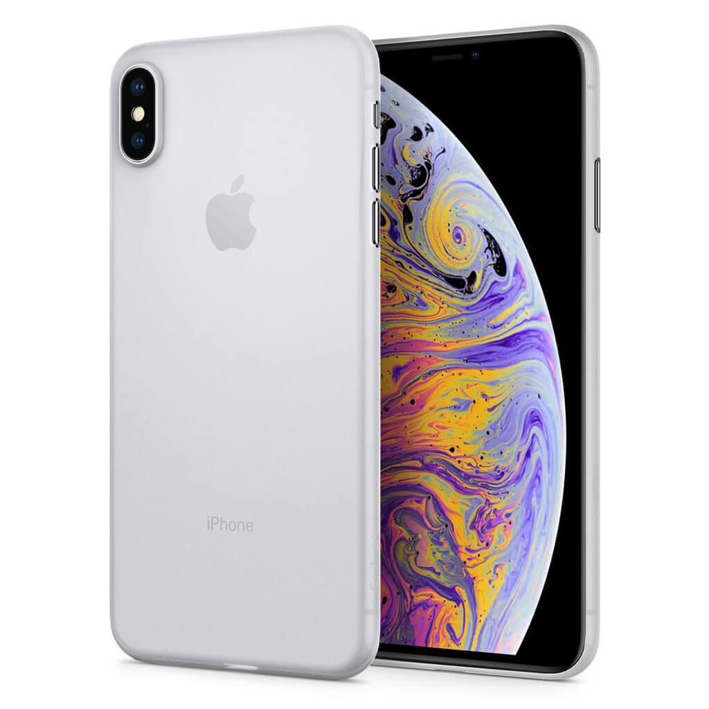 Spigen® AirSkin™ 065CS24829 iPhone XS Max Case - Soft Clear