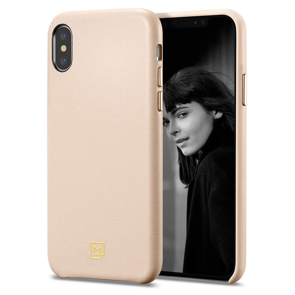 Spigen® La Manon Câlin 065CS25094 iPhone XS Max Case - Pale Pink