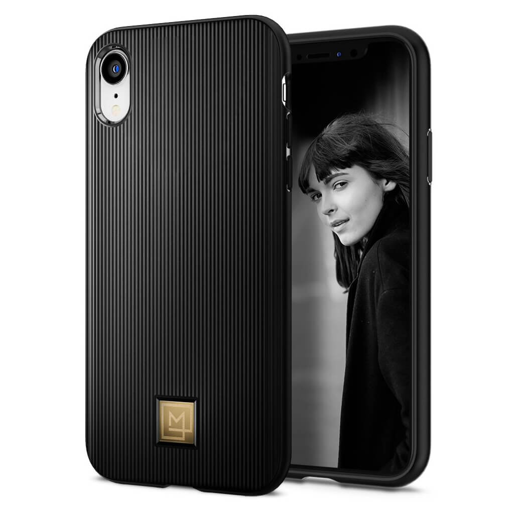 Spigen® La Manon Classy 064CS24960 iPhone XR Case - Black