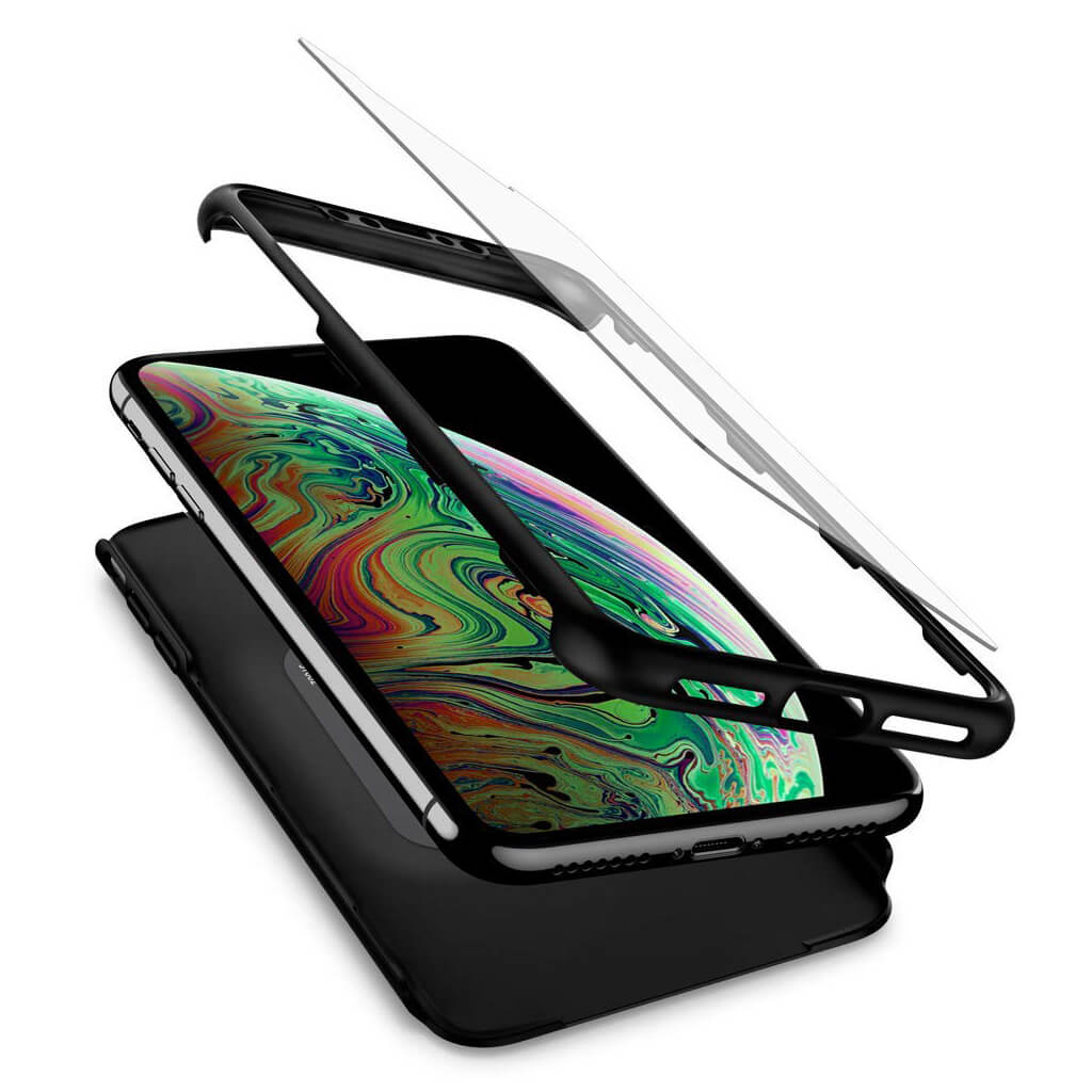 Spigen® Thin Fit 360™ 065CS24846 iPhone XS Max Case - Black