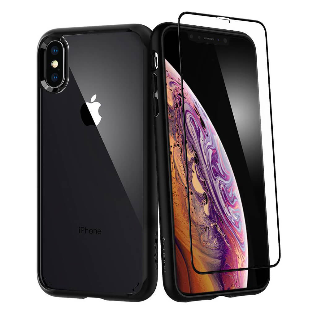 Spigen® Ultra Hybrid 360™ 065CS25132 iPhone XS Max Case - Black