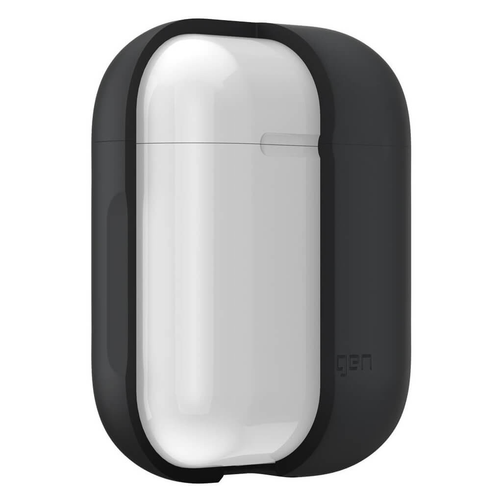 Spigen® Apple AirPods Silicone Case / 066CS24811 - Charcoal