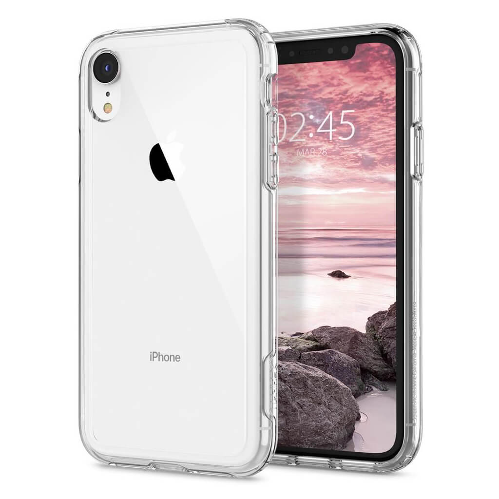 Spigen® Crystal Hybrid™ 064CS25150 iPhone XR Case - Crystal Clear