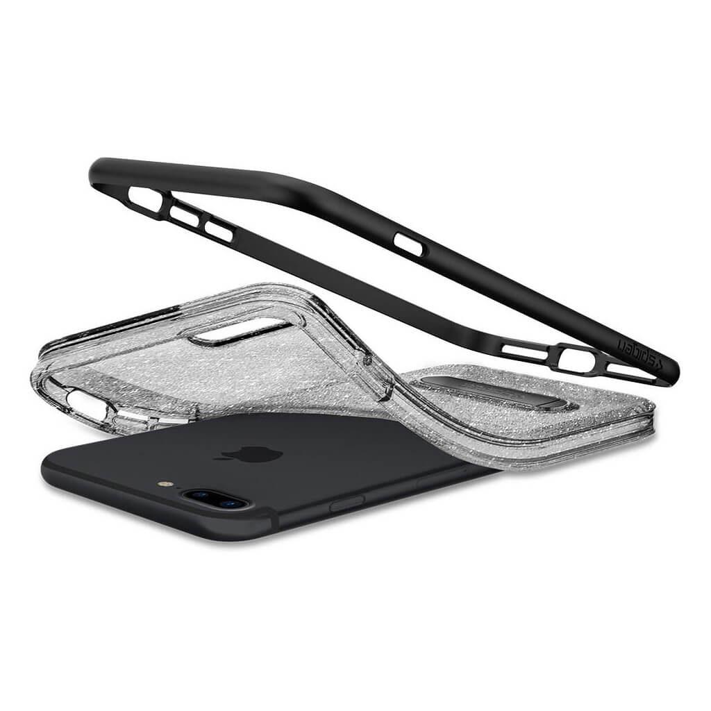 Spigen® Crystal Hybrid Glitter™ 043CS21214 iPhone 7 Plus Case - Space Quartz