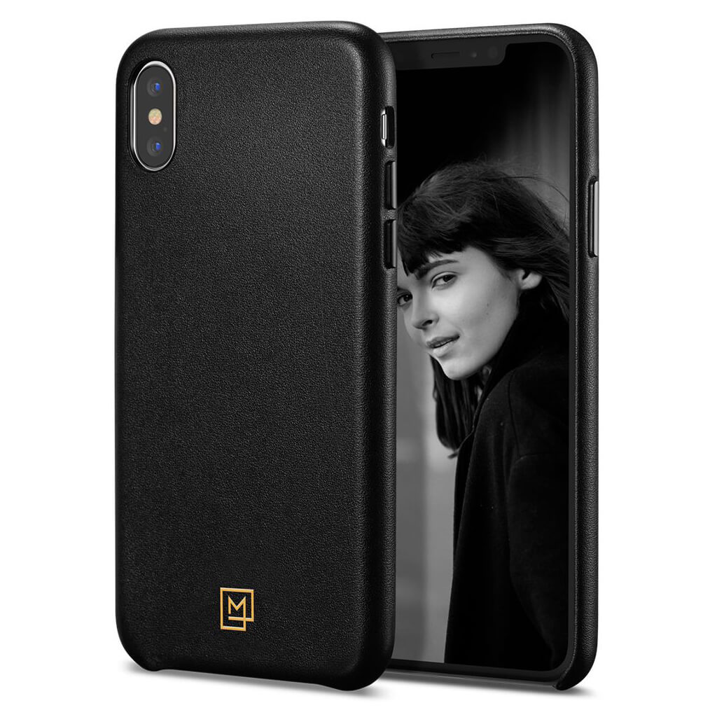 Spigen® La Manon Câlin 065CS25092 iPhone XS Max Case - Chic Black
