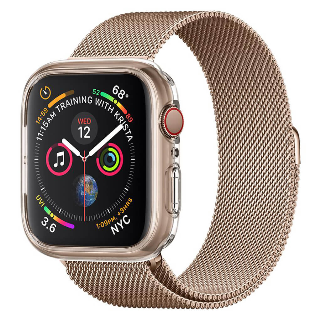 Spigen® Liquid Crystal™ 061CS24483 Apple Watch Series 4 (40mm) Case - Crystal Clear
