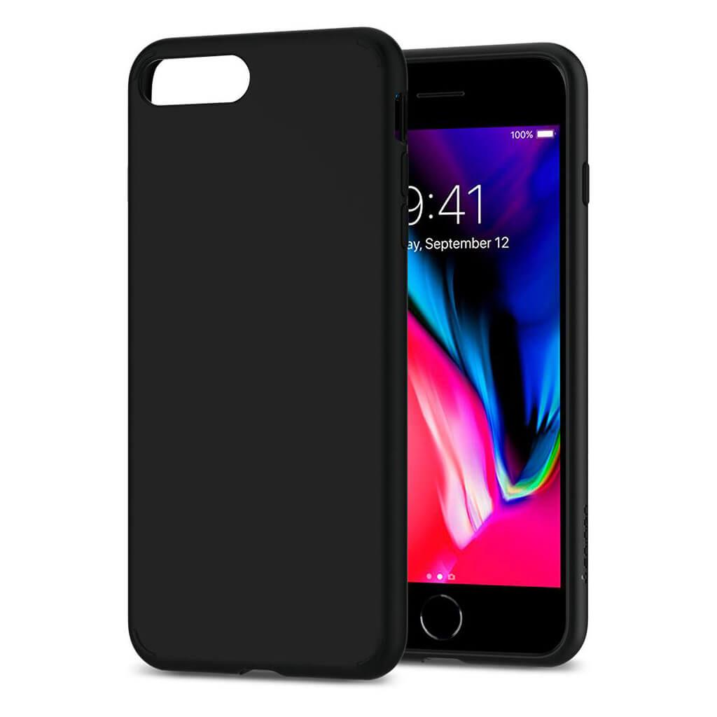 Spigen® Liquid Crystal™ 2 055CS22234 iPhone 8 Plus / 7 Plus Case - Matte Black