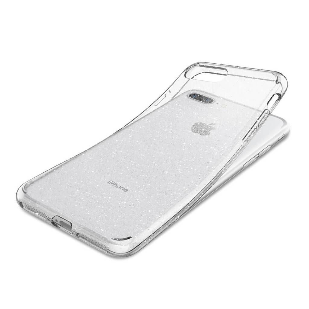 Spigen® Liquid Crystal Glitter™ 043CS21758 iPhone 8 Plus / 7 Plus Case - Crystal Quartz