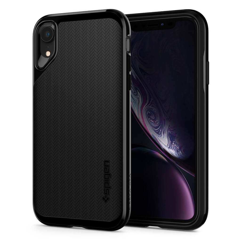 Spigen® Neo Hybrid™ 064CS24879 iPhone XR Case - Jet Black