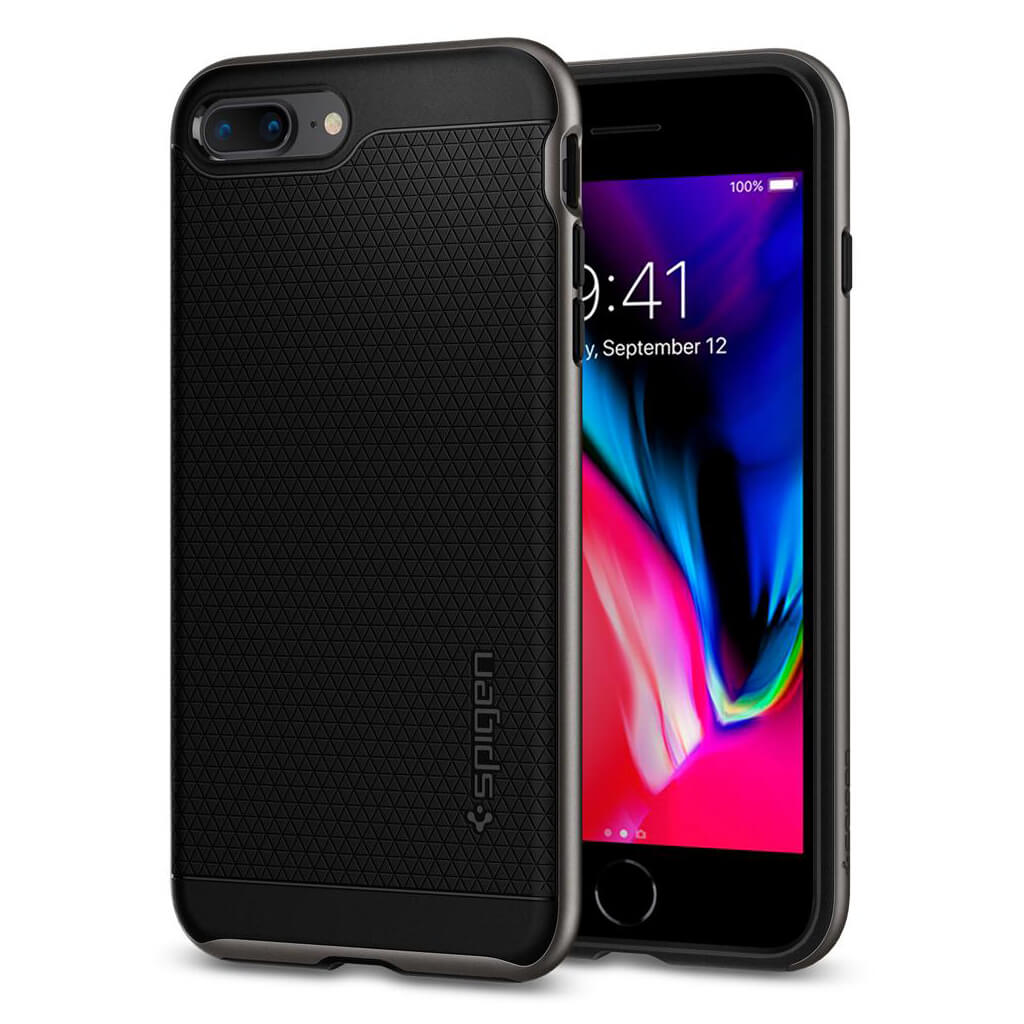 Spigen® Neo Hybrid™ 2 055CS22373 iPhone 8 Plus / 7 Plus Case - Gunmetal