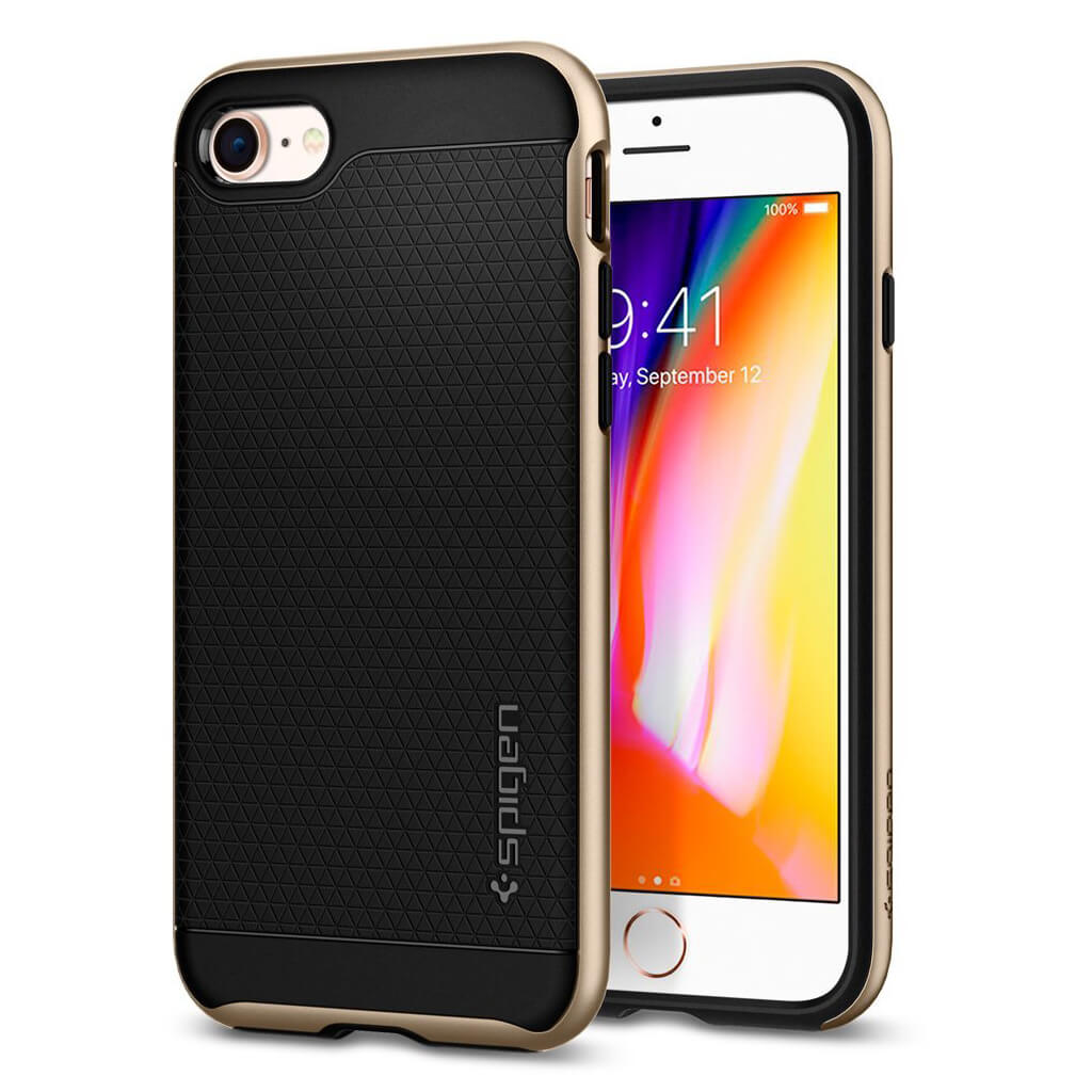 Spigen® Neo Hybrid™ 2 055CS22375 iPhone 8 Plus / 7 Plus Case - Champagne Gold