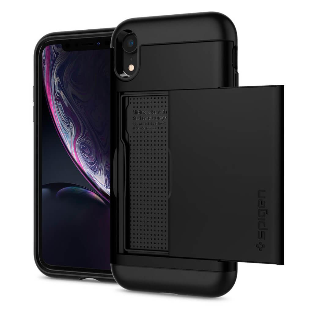 Spigen® Slim Armor CS™ 064CS24882 iPhone XR Case - Black