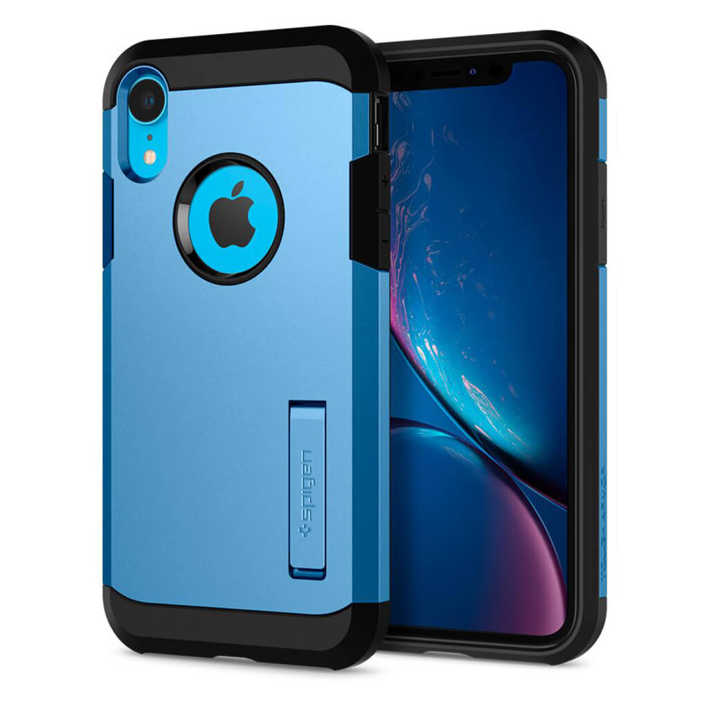 Spigen® Tough Armor™ 064CS25337 iPhone XR Case - Blue