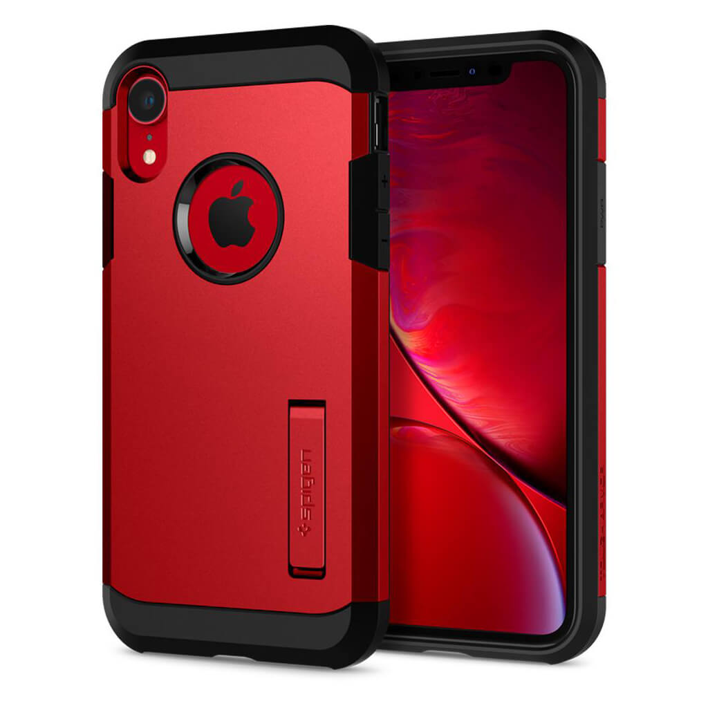 Spigen® Tough Armor™ 064CS25338 iPhone XR Case - Red