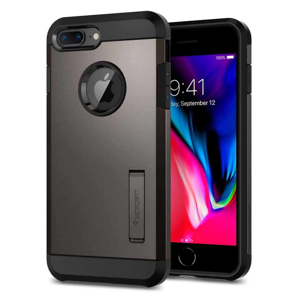 Spigen® Tough Armor™ 2 055CS22244 iPhone 8 Plus / 7 Plus Case - Gunmetal