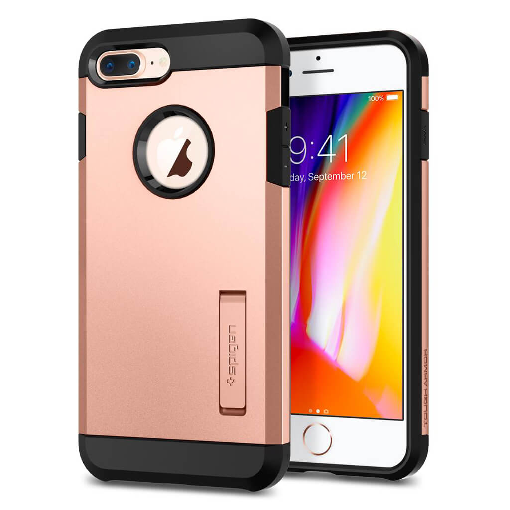 Spigen® Tough Armor™ 2 055CS22577 iPhone 8 Plus / 7 Plus Case - Blush Gold
