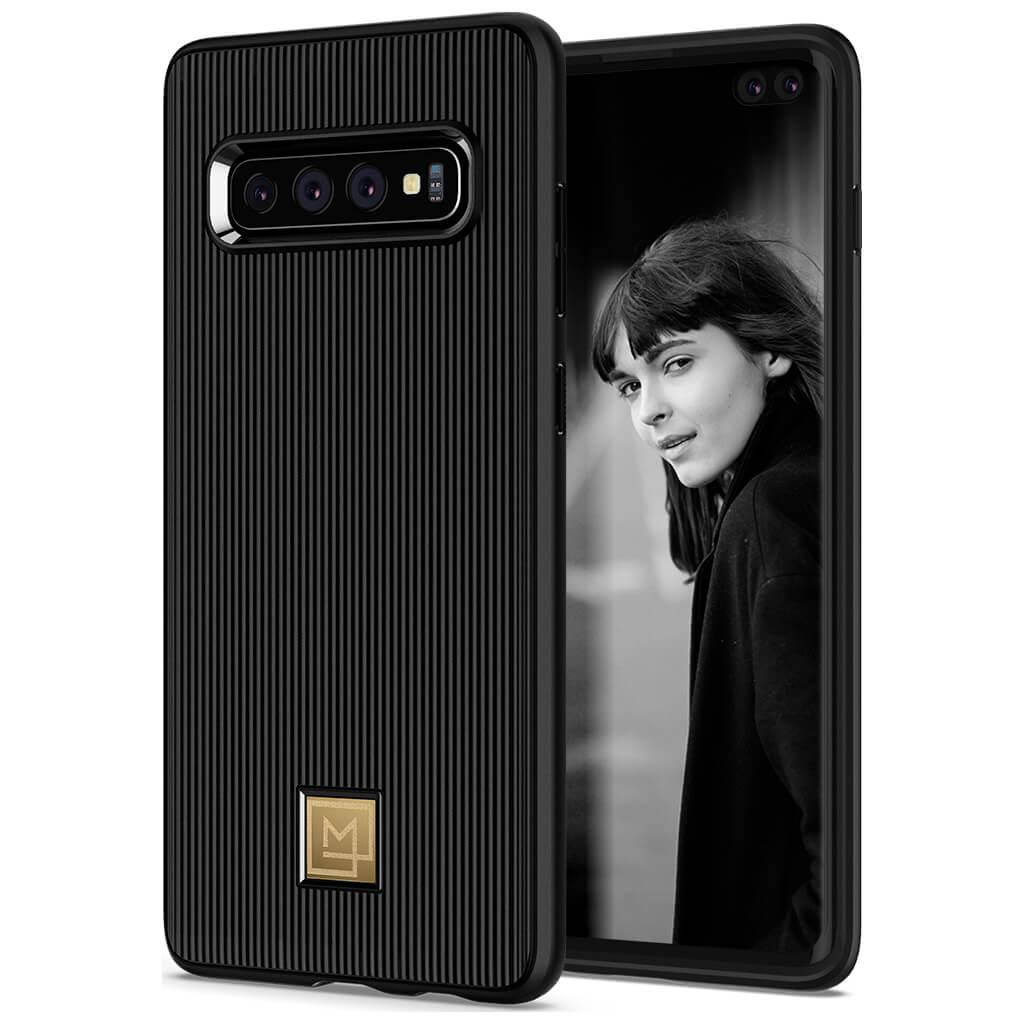 Spigen® La Manon Classy 606CS25785 Samsung Galaxy S10+ Plus Case - Black